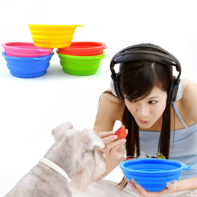 silicone dog bowl main