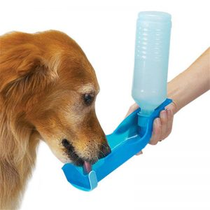 Travel 250ml Foldable Dog Water Drinking Bottle