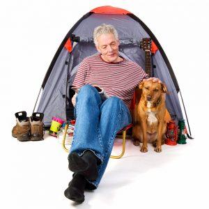 dog-man-tent-supplies